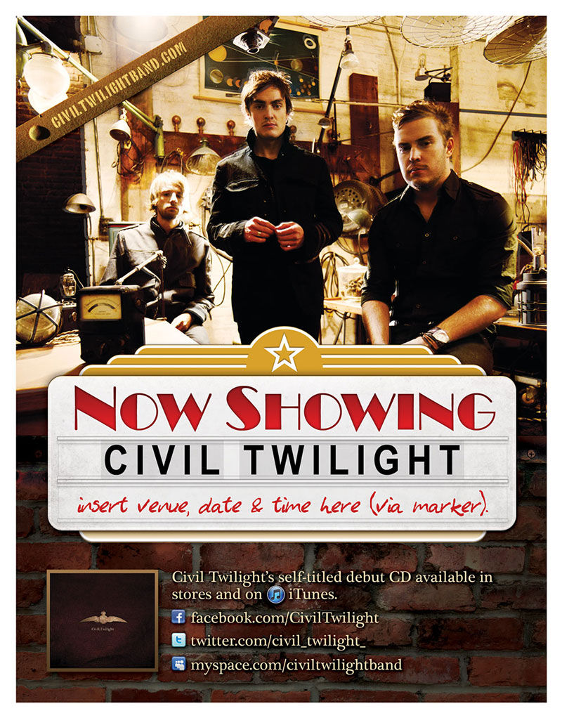 Civil Twilight Poster 2