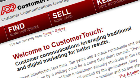 ADP Customer Touch Image